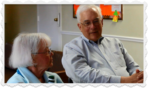 Dolores Bacharach and Pete Powell reminisce about the early years of the Gillespie Center.