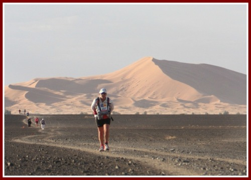 A scene from the 2013 Marathon des Sables.