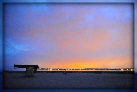 Potential home buyers should watch a Compo sunset -- but also talk to folks on the beach.