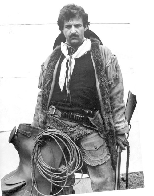 John Kennedy around 1980. He was modeling for Civil War illustrator and painter Don Stivers. All of the gear is authentic.