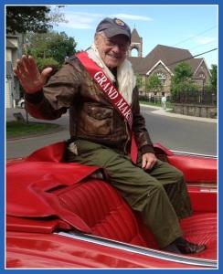 In 2014, Bob Satter was grand marshal of Westport's Memorial Day parade.