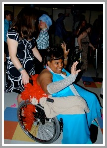 Pure joy at a Best Buddies ball.