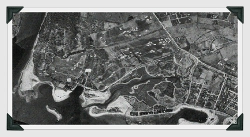 Longshore aerial view - 1934