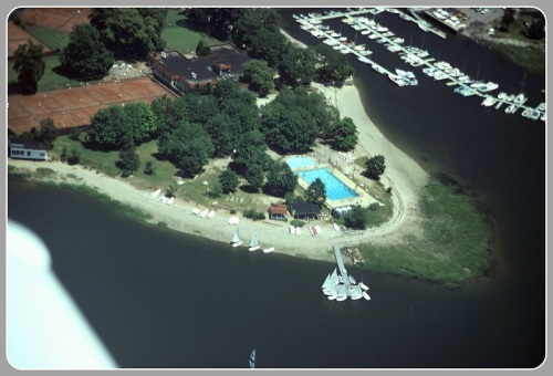 Longshore aerial view - 1960s