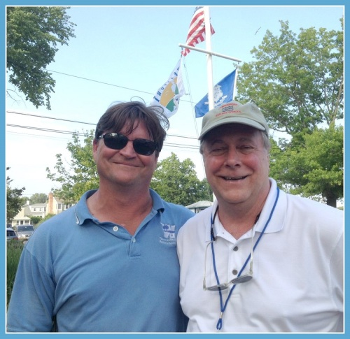 Parks and Recreation director Stuart McCarthy and town operations director Dewey Loselle kept everything running smoothly.