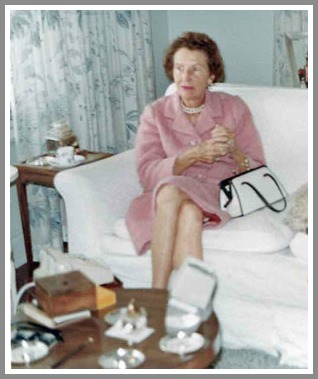 Katharine Ordway was equally at home in social settings and outdoors.