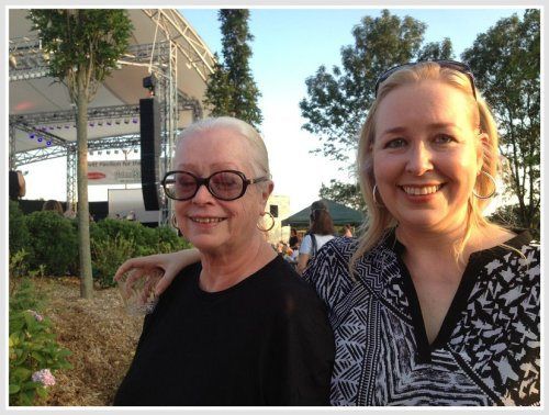 Freda and Carleigh Welsh: 2 of the driving forces behind the Levitt Pavilion's success.