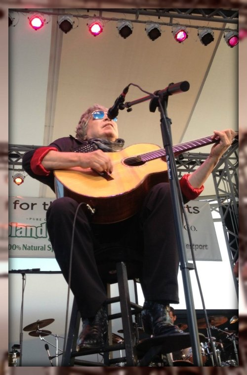 The one and only Jose Feliciano. The Weston resident donated his fee to the Levitt building fund.