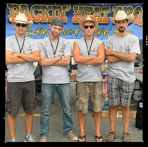 The Packin' Heat BBQ team always provides hot competition. (Photo/MIke Thut)