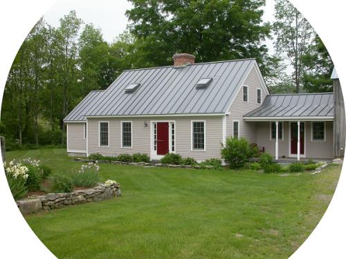 Philip Perlah's Vermont home.