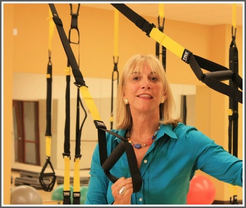 Robin Tauck enjoys one of the Y's new group fitness studios.