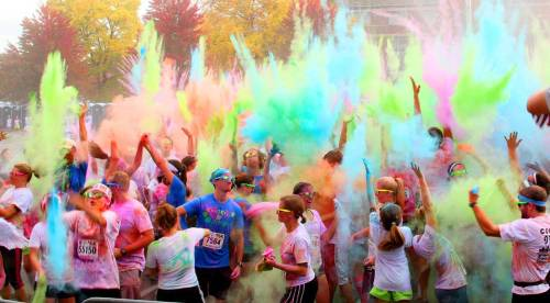 The xxx is a colorful event, for sure.