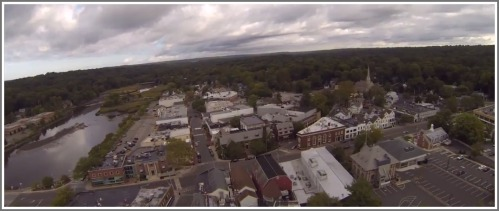 Rick Eason's video shows downtown from an angle never before seen.