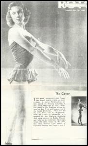 Ann Brannigan from Roth Magazine, in 1952.