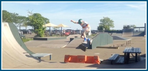 Plenty of skaters gained confidence and a sense of independence at the park.