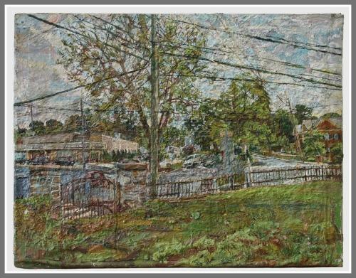 Stan Lewis Winslow Park painting