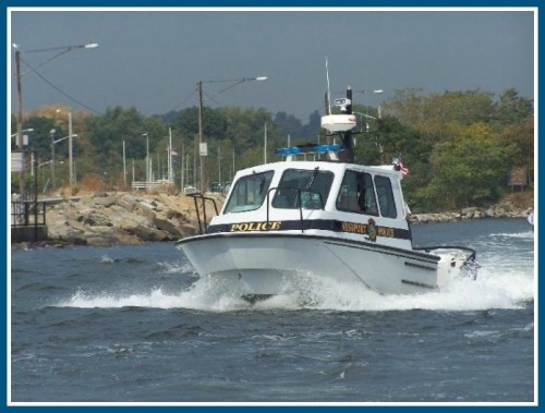 One of the Westport Police Marine Unit's 2 boats. (Photo/Westportct.gov)