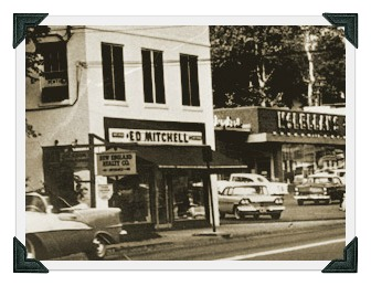 The original Ed Mitchell's, on the corner of the Post Road (State Street) and North Compo Road.