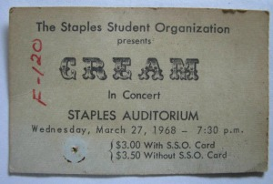 Cream ticket