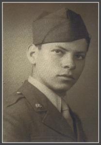 PFC Manny Margolis, age 18 in June 1944.