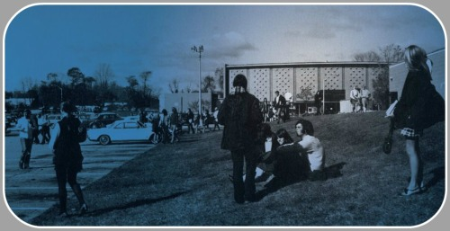 The Staples auditorium -- where so many legendary concerts took place -- as seen in the 1970 yearbook.
