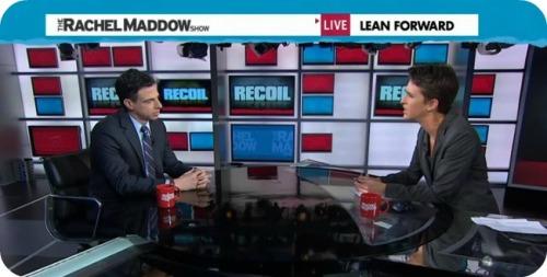 "Josh Koskoff on ""Rachel Maddow"" last night."