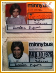 Jennifer DeJesus Sabella's 1975 and '76 Minnybus passes.