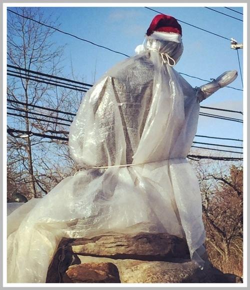 Minuteman under wraps