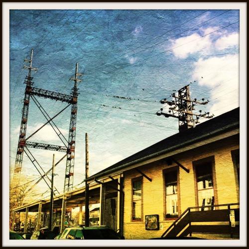 Train station - Betsy P Kahn