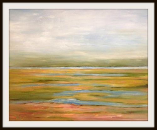 An oil on canvas, by Kim Porio