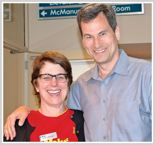 Westport Library director Maxine Bleiweis has often enlisted the help of David Pogue. The Westport-based tech writer-video star-guru happily obliges.