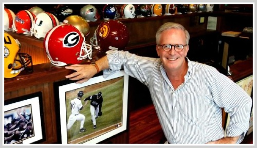 Paul Emmett, in one of the nearly 30 Duffy Sports Grills he owned in South Florida. (Photo/Sun-Sentinel)