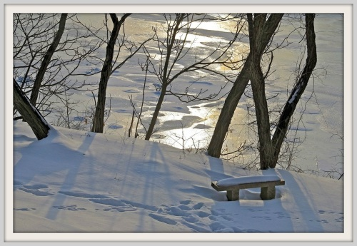 Riverwalk winter 2015 - Lynn U Miller
