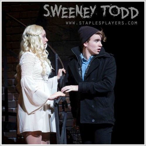 Johanna (Emma Ruchefsky) and Anthony Hope (Jack Baylis). (Photo/Kerry Long)