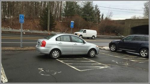 Exit 42 parking lot