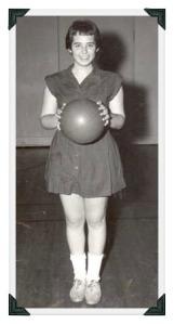...and Jane Yolen, 1955-56 Staples basketball captain.