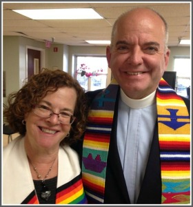 Rev. Debra Haffner and Harry Knox. He is the president and CEO of the Religious Coalition for Reproductive Choice.