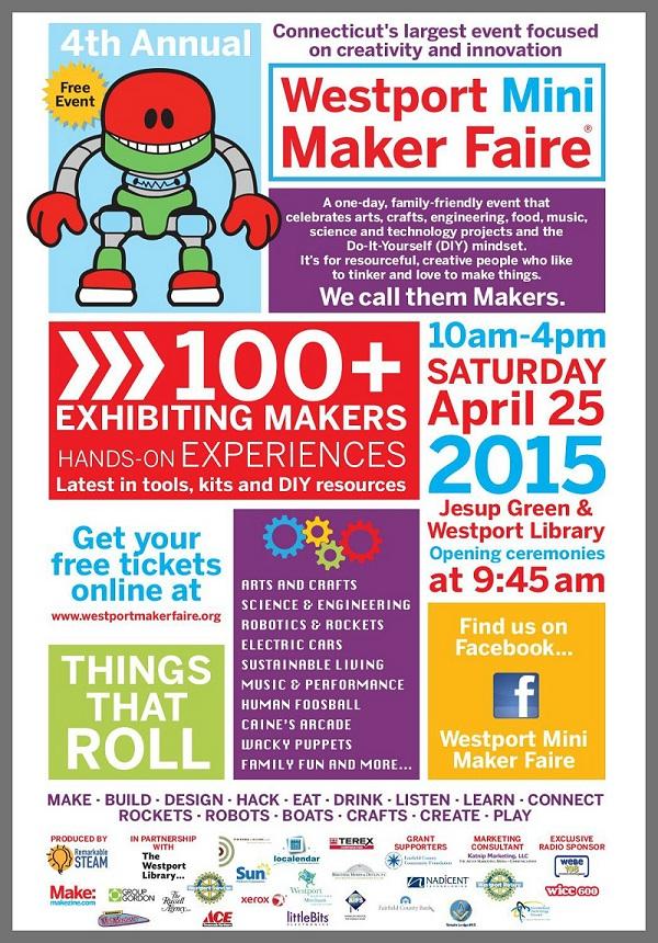 Come One Come All To The Maker Faire 06880