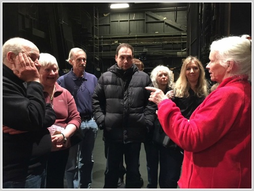 Associate artist Annie Keefe explains the Playhouse's inner workings.