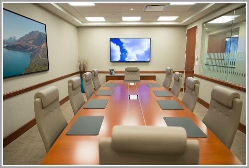 Like everything else at Symphony, this board room can be rented out by anyone.
