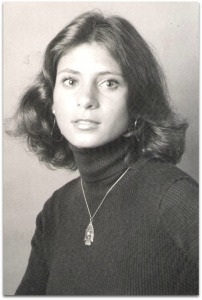 Teri Gatti, in 1975.