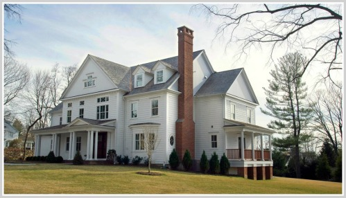 The Times used this photo of a new house on Turkey Hill Road South to illustrate its story on Fairfield County real estate ... (Photo/Douglas Healey for the New York Times)