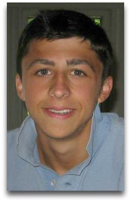 Collin Carroll, as a Staples High School student.