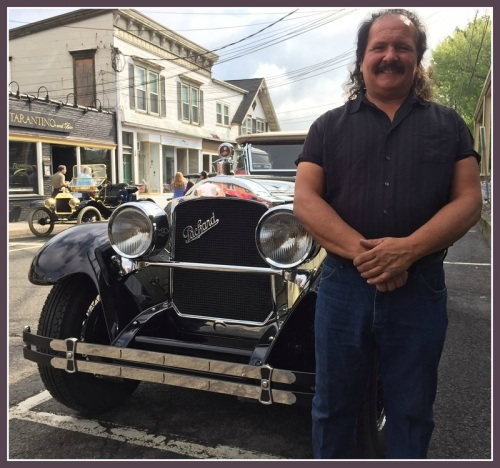 "George Dragone -- of Dragone Classic Motorcars -- loves this 1928 Packard. He says it represents a transition from ""boxy, unexciting"" cars that preceded it, to ""beautifully styled ones""that followed."