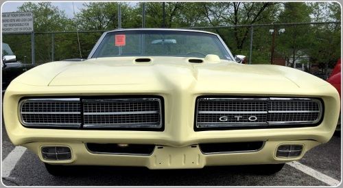 Little GTO, you're really lookin' fine...