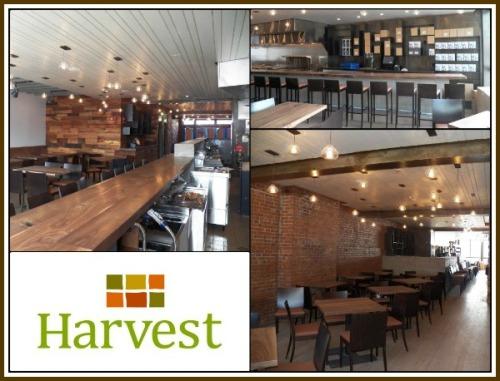 Harvest Wine Bar & Restaurant in Greenwich. (Photo collage/CTBites.com)