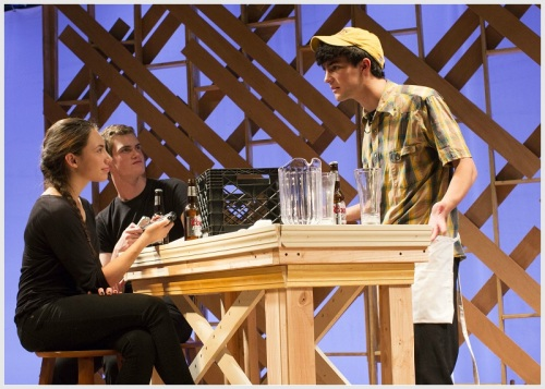 """""""The Laramie Project"""" probes into the lives of over 60 residents of a Wyoming college town, in the aftermath of a horrific murder. (Photo/Kerry Long)"""