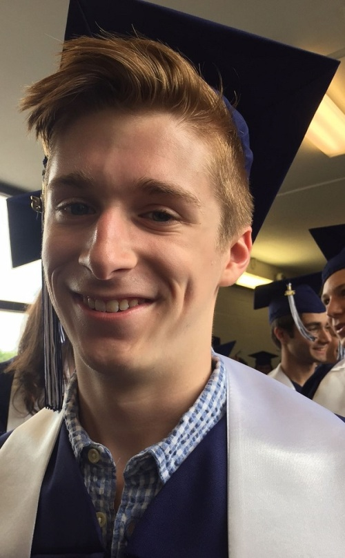 Less than 24 hours after soloing with the choir at baccalaureate, Jack Bowman gets ready to graduate.