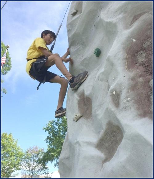 Duck - climbing wall