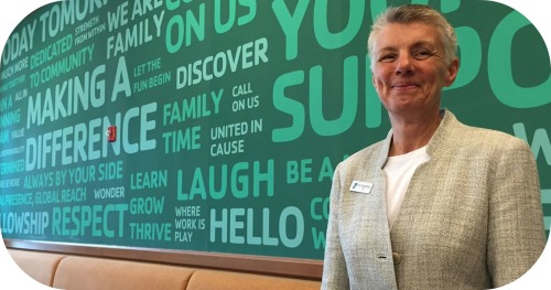 Pat Riemersma, a few days into her new job as CEO of the Westport Weston Family Y.